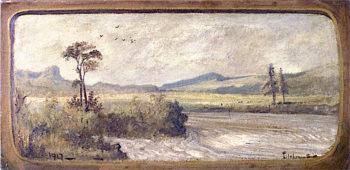 Riverscape | Louis M. Eilshemius | oil painting