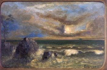 Tropical Ocean | Louis M. Eilshemius | oil painting