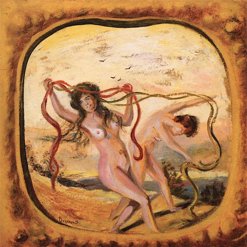 Dancing Nymphs | Louis M. Eilshemius | oil painting