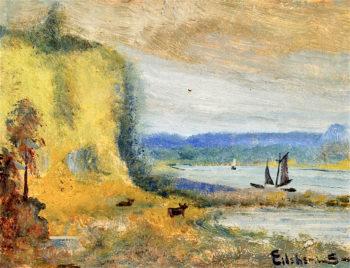 Peaceful Cove | Louis M. Eilshemius | oil painting