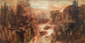 The Gorge | Louis M. Eilshemius | oil painting