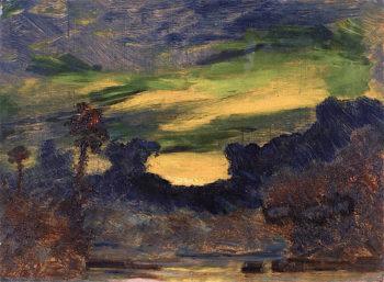 Tropical Landscape | Louis M. Eilshemius | oil painting
