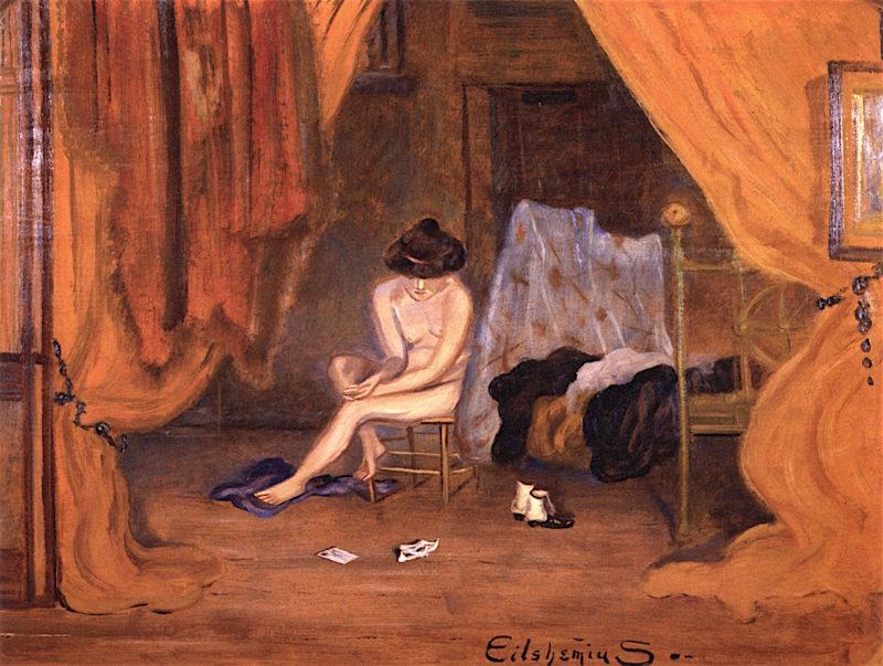 Despondent | Louis M. Eilshemius | oil painting