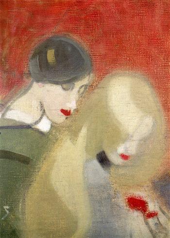 Family Heirloom | Helene Schjerfbeck | oil painting