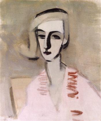 The Teacher | Helene Schjerfbeck | oil painting