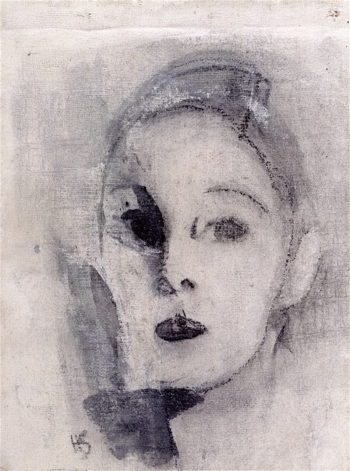 Self - Portrait | Helene Schjerfbeck | oil painting