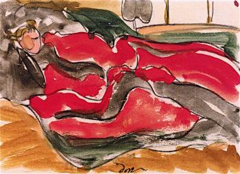 Woman Asleep | Arthur Dove | oil painting