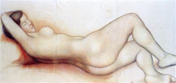 Reclining Nude | Aristide Maillol | oil painting