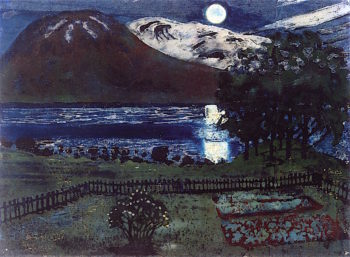 The Moon in May | Nicolai Astrup | oil painting