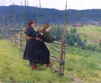 Christian Krohg Paintings