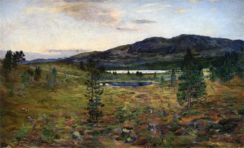 Einundfjell | Harriet Backer | oil painting