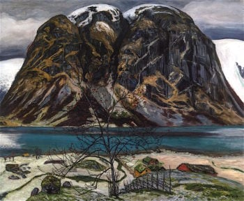 Barren Mountain (Kollen) | Nicolai Astrup | oil painting