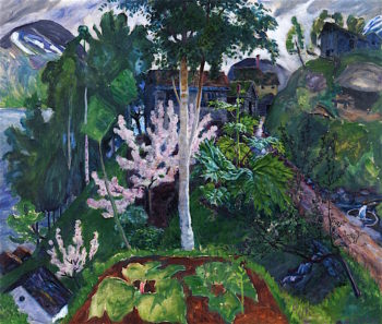 Spring in Jølster | Nicolai Astrup | oil painting