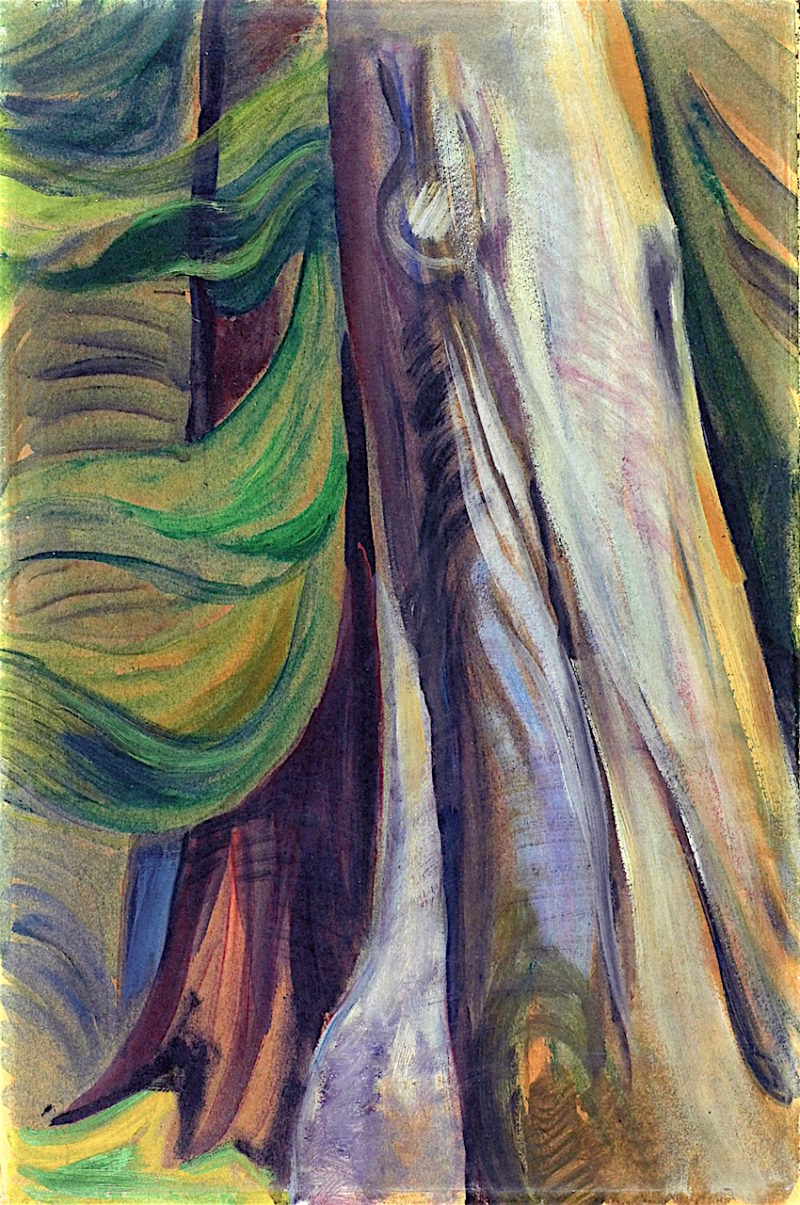 In the Forest | Emily Carr | oil painting