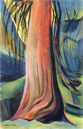 Tree Study | Emily Carr | oil painting