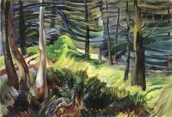 In the Woods of British Columbia | Emily Carr | oil painting