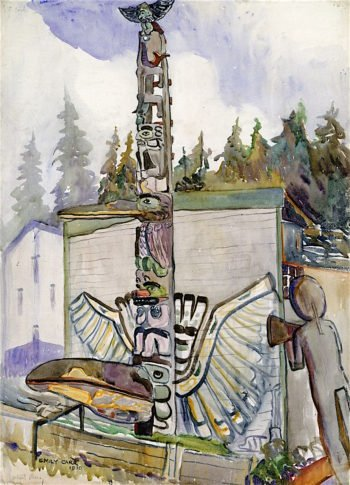 Alert Bay | Emily Carr | oil painting