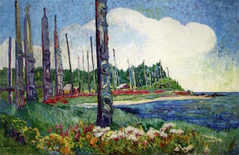 Yan | Emily Carr | oil painting
