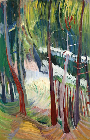 Glade | Emily Carr | oil painting