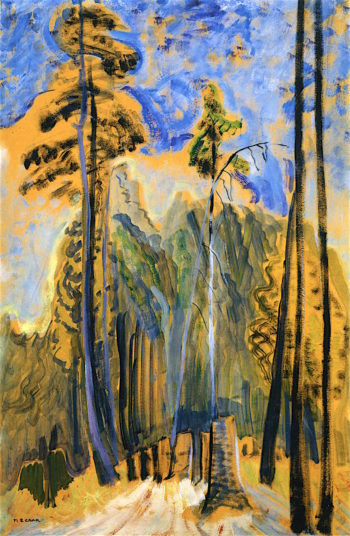 Forest | Emily Carr | oil painting