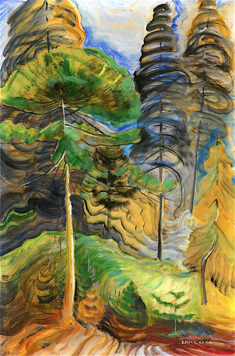 Forest Landscape No. 2 | Emily Carr | oil painting
