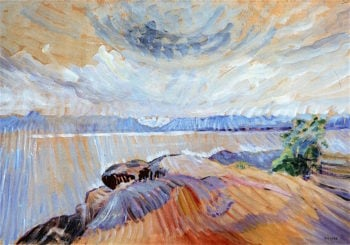 Sea and Sky | Emily Carr | oil painting