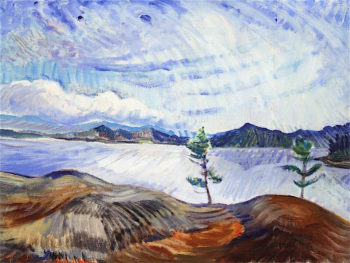Landscape | Emily Carr | oil painting