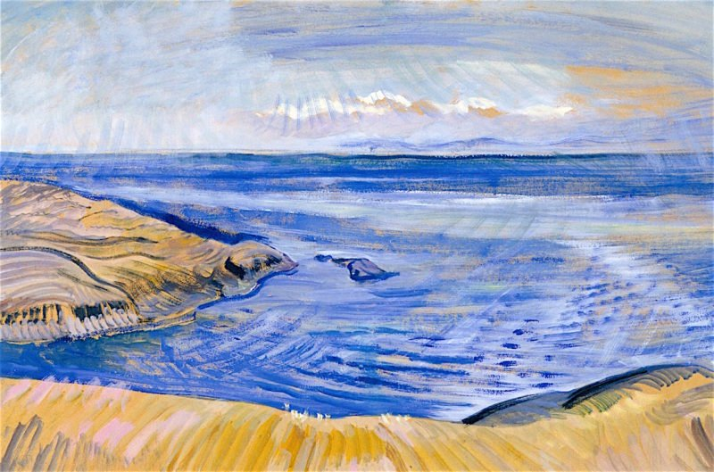 Seascape | Emily Carr | oil painting