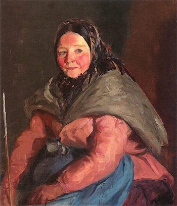 Herself   Robert Henri   oil painting