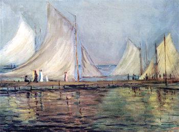 Sails on Lake Minnetonka | Ada Augusta Wolfe | oil painting