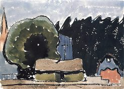 Boat Houses | Arthur Dove | oil painting