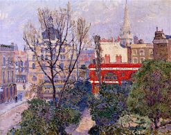 Mornington Crescent | Spencer Gore | oil painting