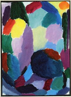 Mood of a Thunderstorm | Alexei von Jawlensky | oil painting