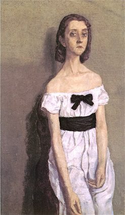 Girl with Bare Shoulders | Gwen John | oil painting