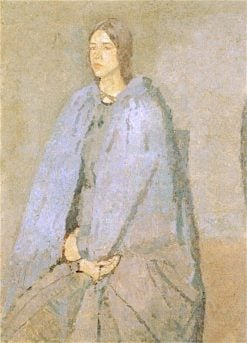 The Pilgrim | Gwen John | oil painting