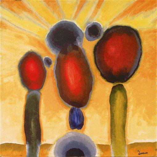 Dawn III   Arthur Dove   oil painting