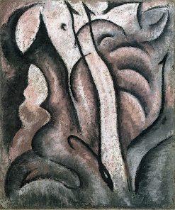 Sentimental Music | Arthur Dove | oil painting