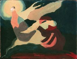 The Moon Was Laughing at Me | Arthur Dove | oil painting