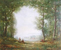 Berkley Springs | Gilbert Munger | oil painting