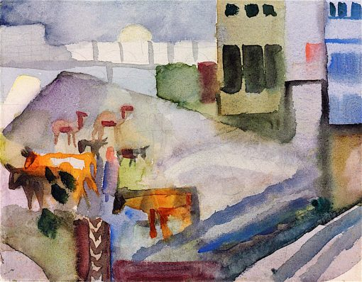 Kairouan II | August Macke | oil painting
