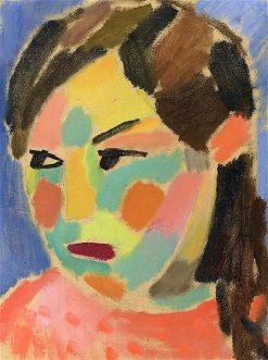 Girls Head | Alexei von Jawlensky | oil painting