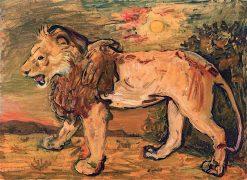 Lion | Abraham Mintchine | oil painting