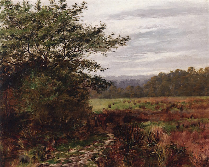 Australian Landscape | Emanuel Phillips Fox | oil painting