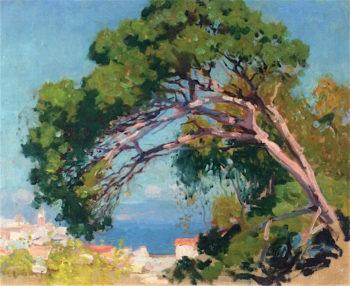 Au Maroc | Emanuel Phillips Fox | oil painting