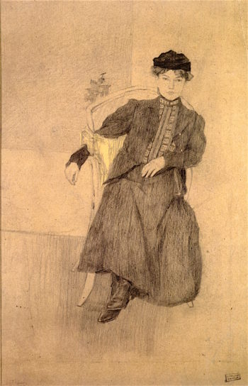 Girl from Munich | Jules Pascin | oil painting