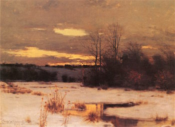 Winter Solitude | Charles Warren Eaton | oil painting