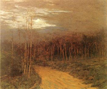 Moonlit Road | Ben Foster | oil painting