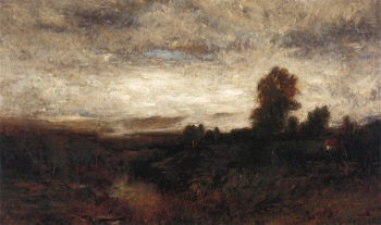 Landscape at Evening | Alexander Helwig Wyant | oil painting