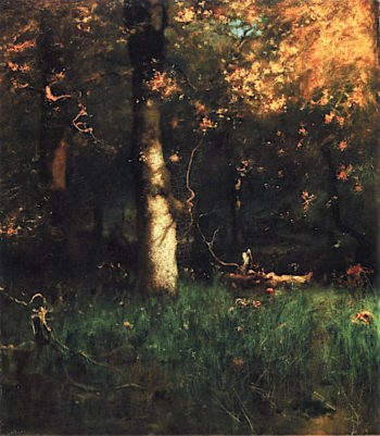 Home of the Heron | George Inness | oil painting