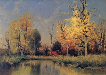Early Spring | Charles Harry Eaton | oil painting